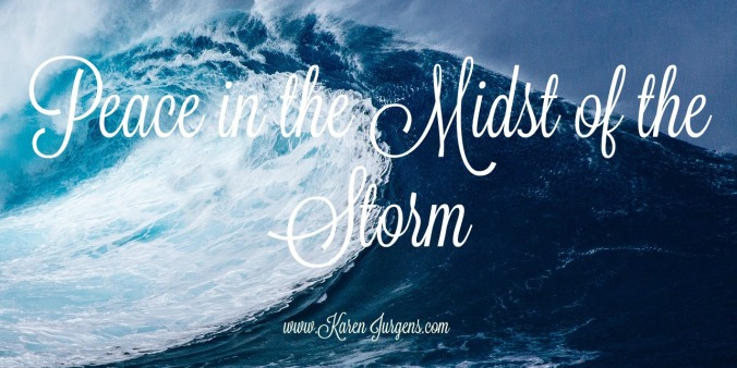Peace in the storm 1